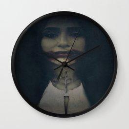 """""""katabasis"""" Wall Clock"""
