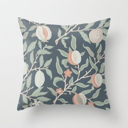Fruit & Floral Pattern Throw Pillow