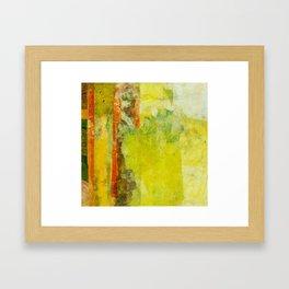 Two Gardens (1 of 2) Framed Art Print
