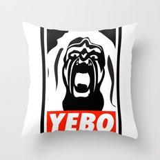 YEBO-UWS Throw Pillow