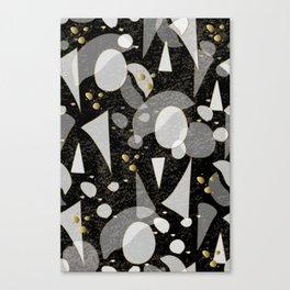 Graphic Terrazzo Style 03 Canvas Print