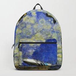 Airliner Van Gogh Backpack