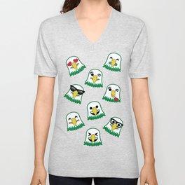 Eagles Emojis Unisex V-Neck