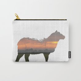 sunrise sheep Carry-All Pouch