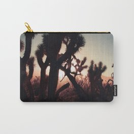 Joshua Trees at Sunset Carry-All Pouch