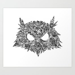 Rasmus the Owl Art Print