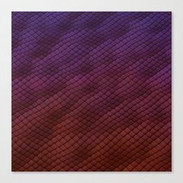 Dragon Scales Pattern Canvas Print