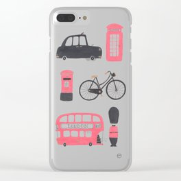 London Town Clear iPhone Case