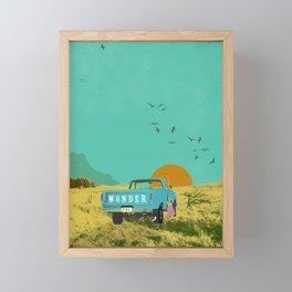 WONDERFUL Framed Mini Art Print