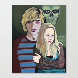 Tate and Voilet Canvas Print