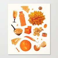 ORANGE II Canvas Print