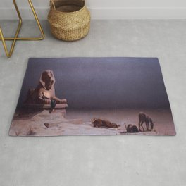 Luc-Olivier Merson's Rest on the Flight into Egypt Rug