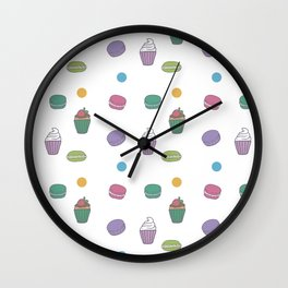 Muffins Wall Clock