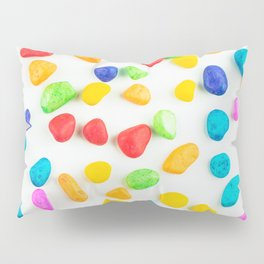 Rainbow rocks Pillow Sham