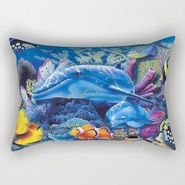 animal is lands Rectangular Pillow