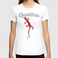 audi T-shirts featuring Quattro by Pisthead