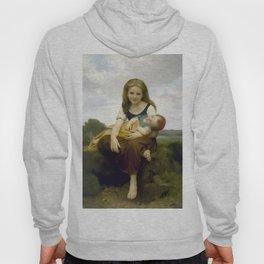 William Bouguereau - The Elder Sister, 1869 Hoody