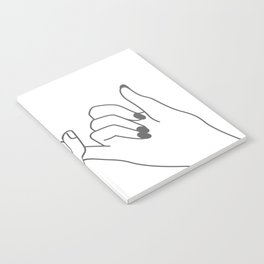Pinky Promise 3 Notebook