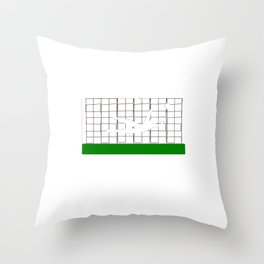 Soccer Yup Im Definitely a Keeper Throw Pillow
