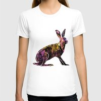 hare T-shirts featuring Hare by MACACOSS