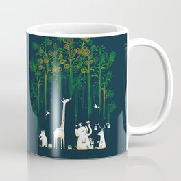 Re-paint the Forest Coffee Mug