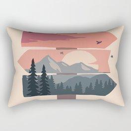 sign post Rectangular Pillow