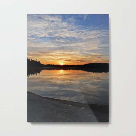 Minnesota Sunrise Metal Print