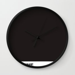PANTOMIME - almost back Wall Clock