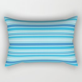 Bright Blue Hues Rectangular Pillow