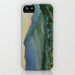 Mt. Mansfield at Dusk iPhone Case
