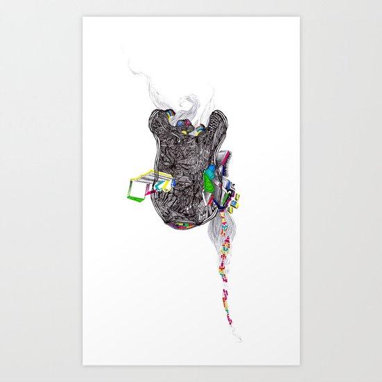 R.I.P. Love R.I.P. Art Print