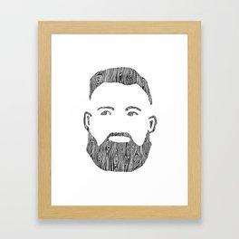 The Woodworker Framed Art Print