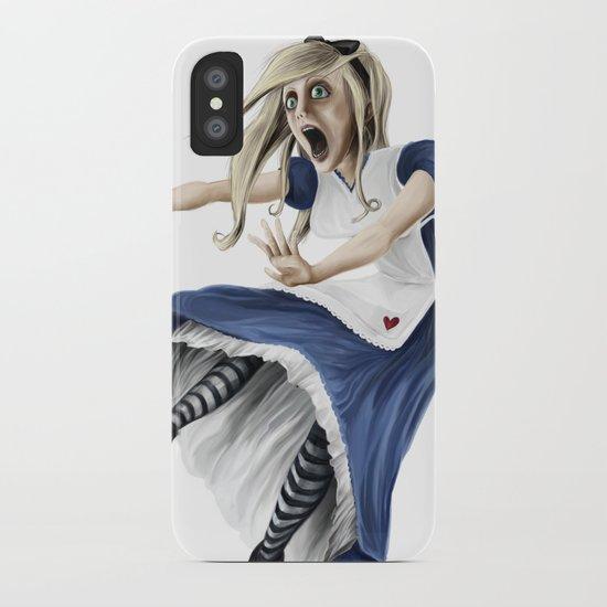 Falling Alice iPhone Case