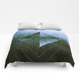 Dolomite Mountains Comforters