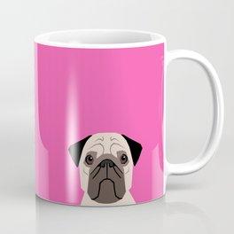 Taylor - Pug dog art phone case for pet lovers and dog people Coffee Mug