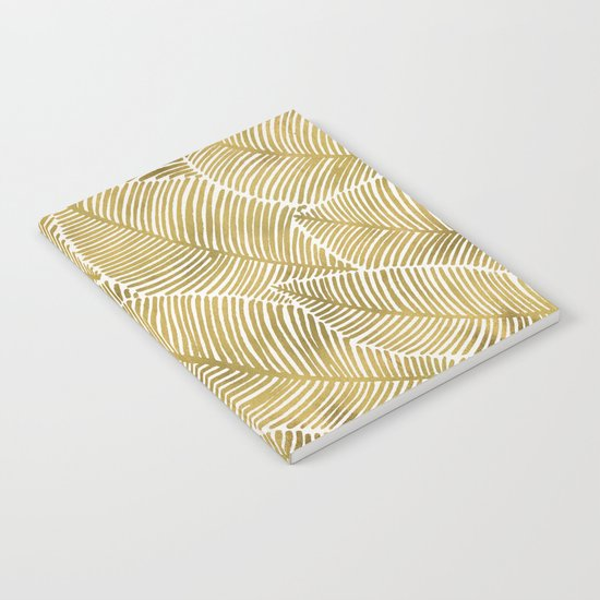 Tropical Gold Notebook