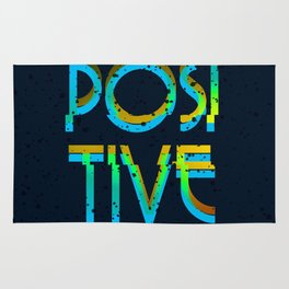 Just Positive Vibes Rug