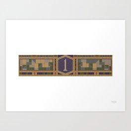 1st Ave Art Print