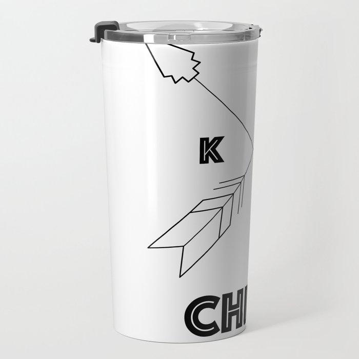 Chiefs Arrowhead Travel Mug