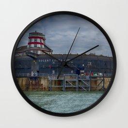 No Mans Fort 2 Wall Clock