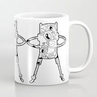 finn Mugs featuring Finn  by 8BOMB