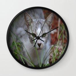 Emerald Eyes Wall Clock
