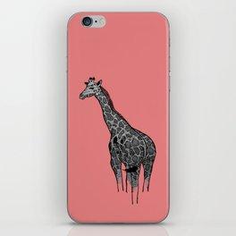 Newspaper Giraffe iPhone Skin