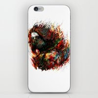 winter soldier iPhone & iPod Skins featuring Winter Soldier by ururuty