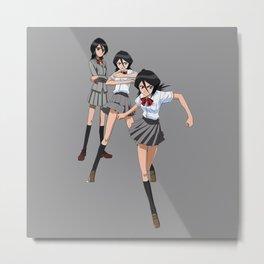 Rukia GO! Metal Print