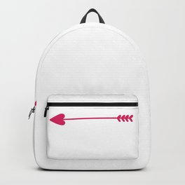 Sweet Valentines Day Where You Stay I Will Stay Valentine Backpack