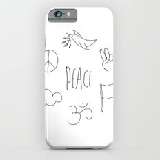 Peace to the world iPhone 6s Slim Case