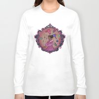 makeup Long Sleeve T-shirts featuring Makeup Witch by adorkablyfeline