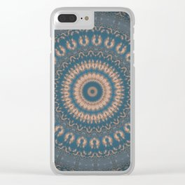 Some Other Mandala 357 Clear iPhone Case