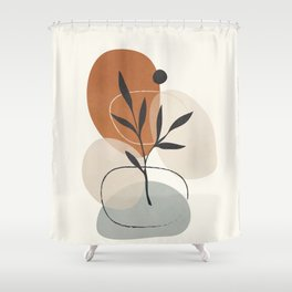 Persistence is fertile 1 Shower Curtain